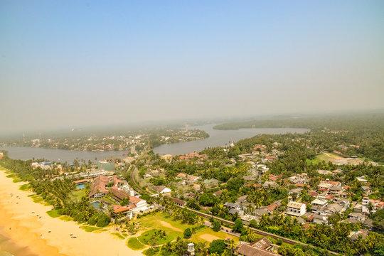 Strandbilder von Bentota auf  Sri Lanka