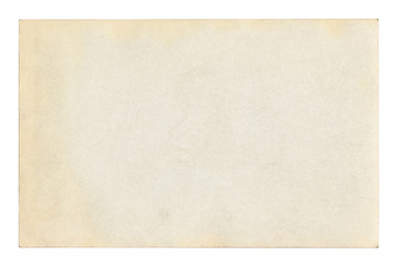 Vintage paper background isolated - (clipping path included)	 Fototapete