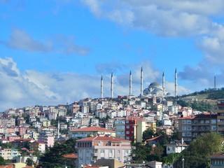 Camlica Mosque,Istanbul,Turkey
