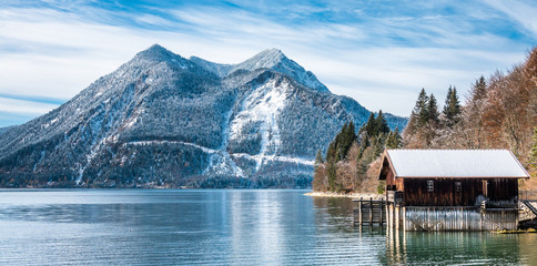 walchensee lake in bavaria