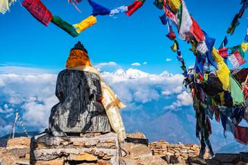 Fototapeta nepal gosainkunda buddha obraz