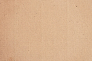 Brown paper box and Kraft paper texture and background with space.