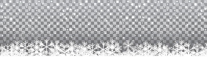 New Year snowflake background - for stock