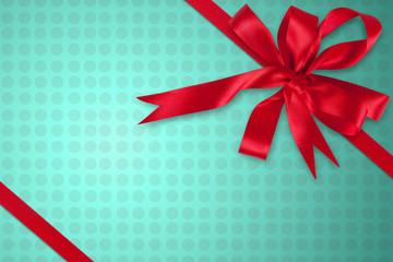 Schleife für Weihnachten