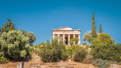 Temple of Hephaestus in the Agora, Athens, Greece
