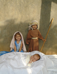 Christmas Children Living Nativity