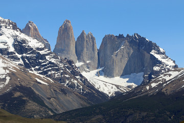 Nationalpark Torres del Paine in Patagonien. Chile