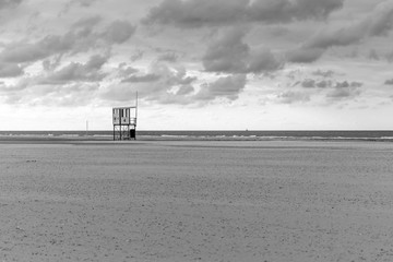 Wachturm am Strand