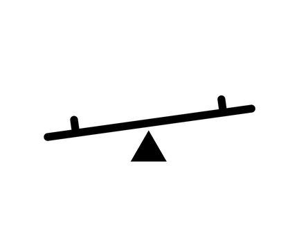 See saw icon