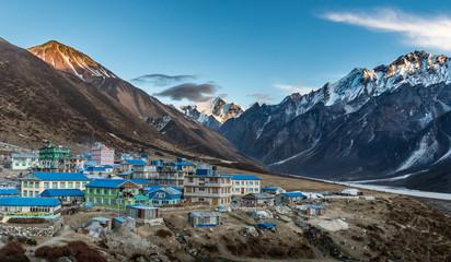 Mountain village Langtang