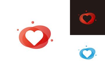 Love Logo Template Design Vector, Emblem, Design Concept, Creative Symbol, Icon