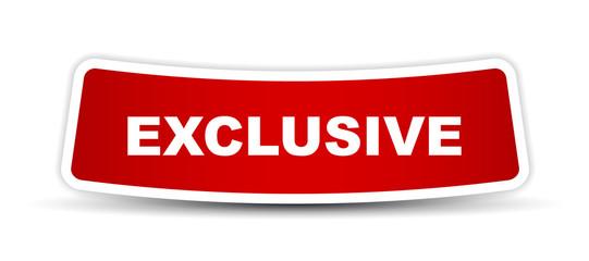 red vector banner exclusive