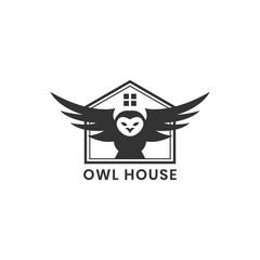 Owl house logo design