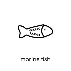 Marine Fish icon from Australia collection.