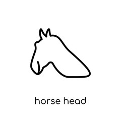 Horse Head icon from American Indigenous Signals collection.