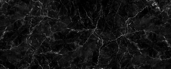 Natural black marble texture for skin tile wallpaper luxurious background, for design art work. Stone ceramic art wall interiors backdrop design. Marble with high resolution Wall mural