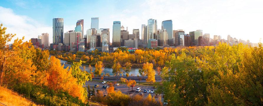 Calgary in Fall