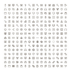 Programming icon set