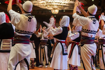 Albanian folklore team