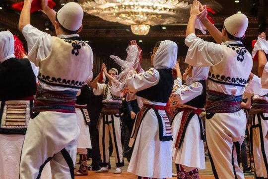 Albanian folklore team
