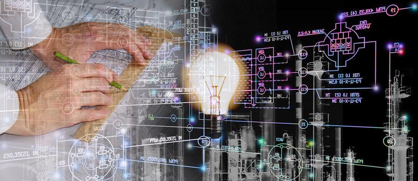 engineering industry concept