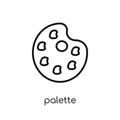 Palette icon from Museum collection.