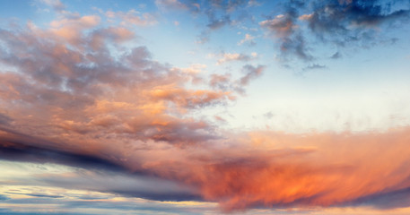 Wall Mural - Sky at sunset
