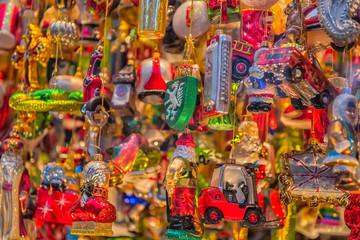 Christmas decoration shop in Graz, Styria, Austria