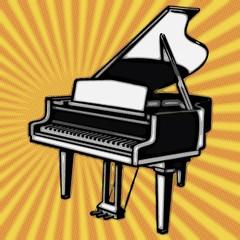 Pop Art. Piano à queue
