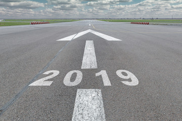 Arrow runway airport year 2019