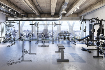 Weights Room (overview)