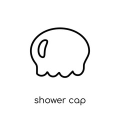 Shower cap icon from collection.