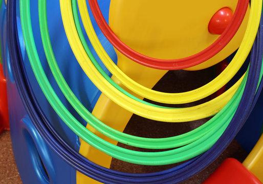 colorful plastic games for kindergarten children