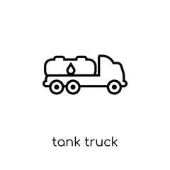 Tank truck icon from collection.