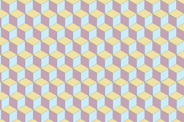 Abstract geometric pattern. Multicolor Figures. Texture for print and Banner. Flat style