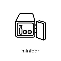 Minibar icon from Hotel collection.