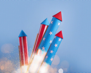 rockets for fireworks made in the American style