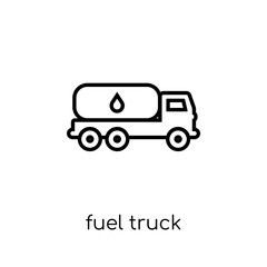 Fuel truck icon from collection.