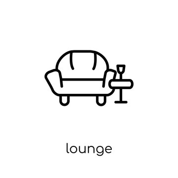 Lounge icon from Hotel collection.