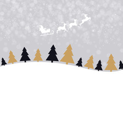 Christmas Wallpaper With Xmas Tree