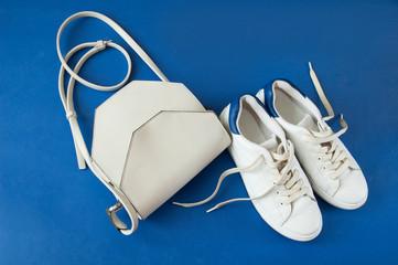 beautiful shoes isolated on white background
