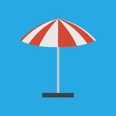 Umbrella for outdoor event vector. Umbrella beach market tent