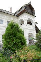 NIZHNY NOVGOROD, RUSSIA - AUGUST 31, 2018: The Manor of Olisov in the city center near Fedorovsky embankment