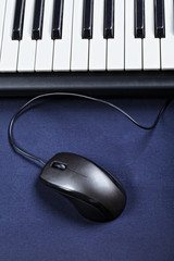 Mouse and keyboard