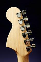 Guitar headstock back