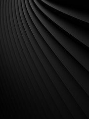 Fototapete - abstract Illustration. luxurious black line background