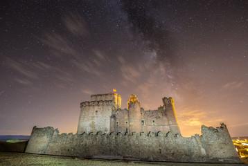 Medieval castle in Spain
