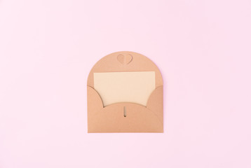 envelope with card