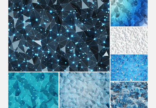 Abstract Polygon Textures