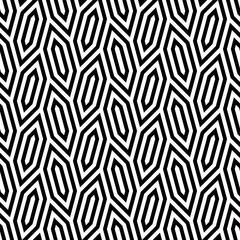 Vector seamless texture. Modern geometric background with hexagonal tiles.